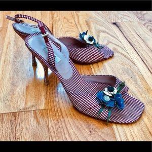 PRADA - heels - open toe - summer